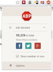 AdBlock Plus - Options
